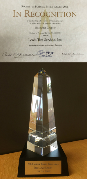 ETHIE Award and Obelisk